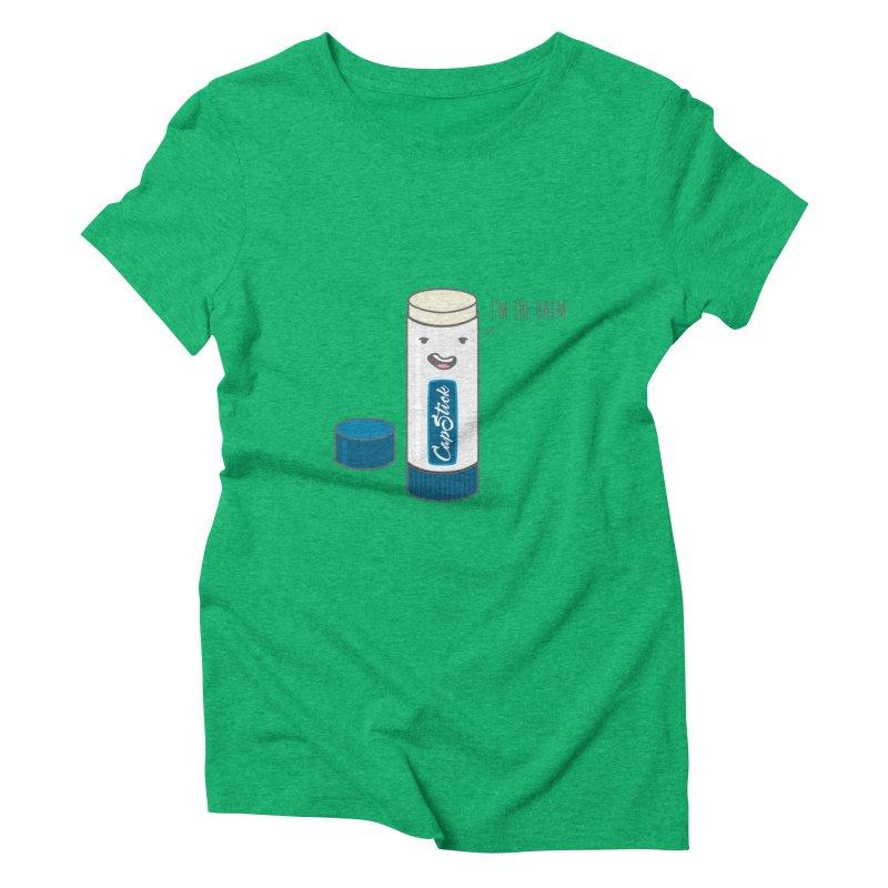The Balm Women's Triblend T-shirt by little g dehttps://www.threadless.com/profile/arti