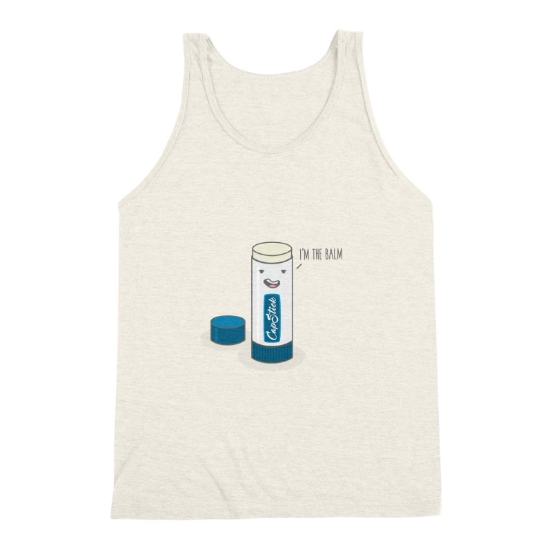 The Balm Men's Triblend Tank by little g dehttps://www.threadless.com/profile/arti