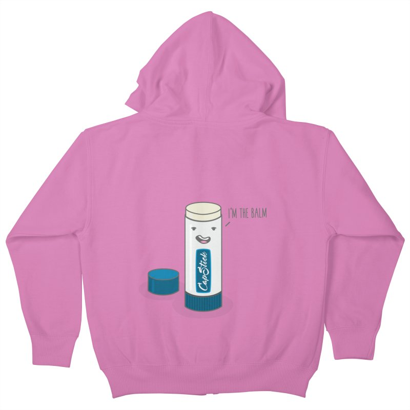 The Balm Kids Zip-Up Hoody by little g dehttps://www.threadless.com/profile/arti
