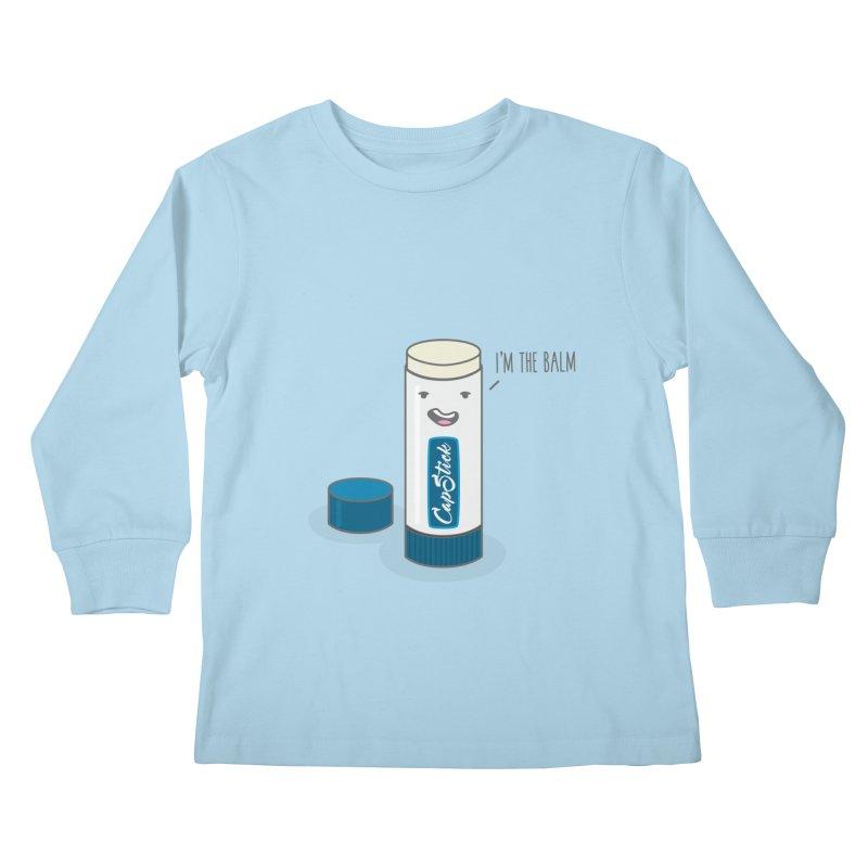 The Balm Kids Longsleeve T-Shirt by little g dehttps://www.threadless.com/profile/arti