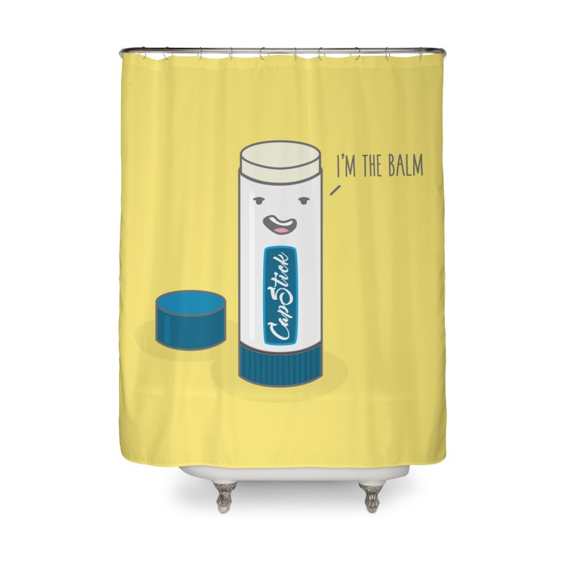 The Balm Home Shower Curtain by little g dehttps://www.threadless.com/profile/arti
