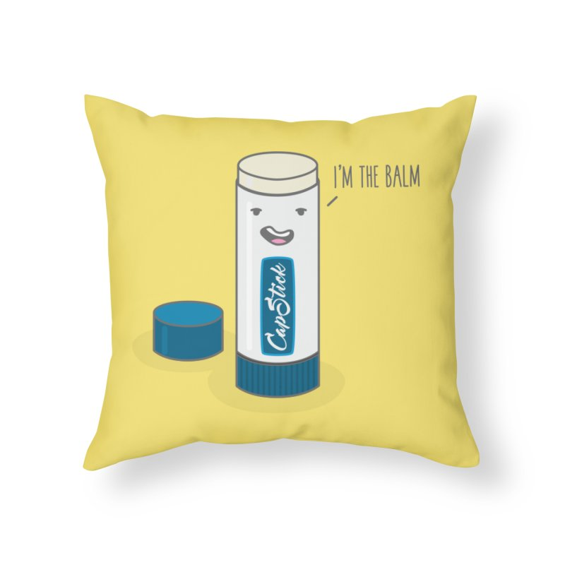 The Balm Home Throw Pillow by little g dehttps://www.threadless.com/profile/arti