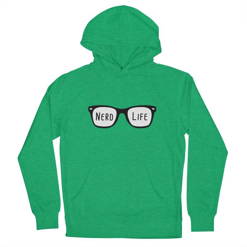 Nerd Life 4Ever Men's Pullover Hoody by little g dehttps://www.threadless.com/profile/arti