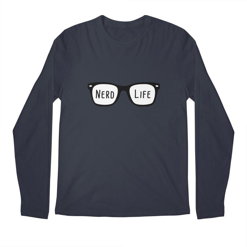 Nerd Life 4Ever Men's Longsleeve T-Shirt by little g dehttps://www.threadless.com/profile/arti