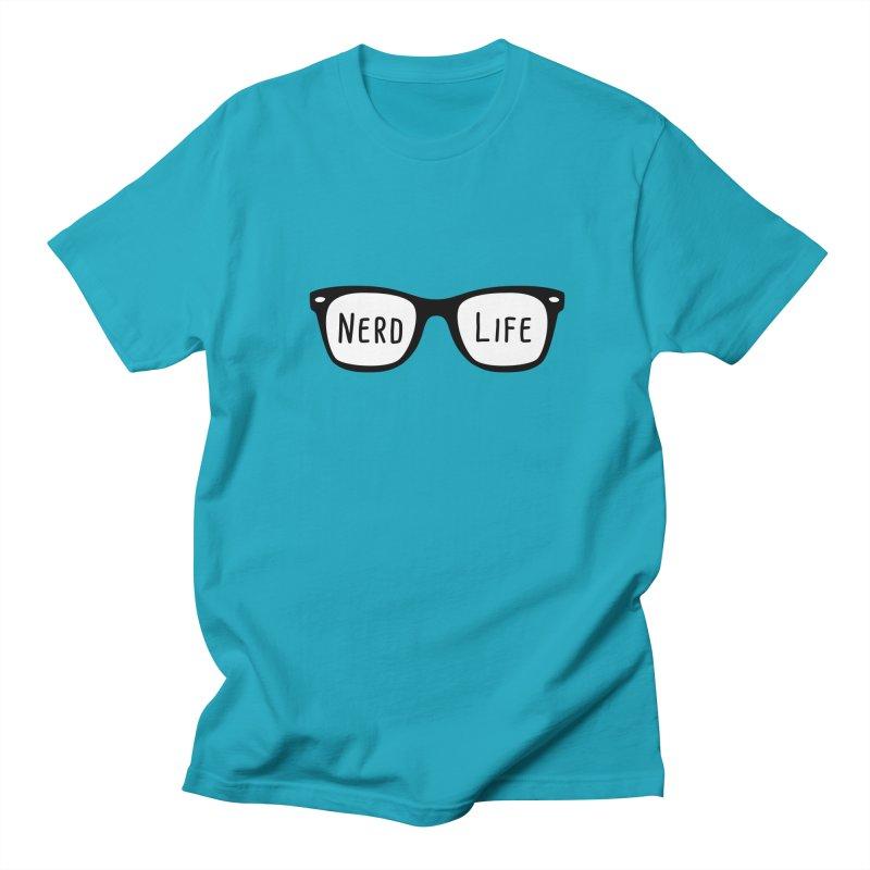 Nerd Life 4Ever Men's T-Shirt by little g dehttps://www.threadless.com/profile/arti