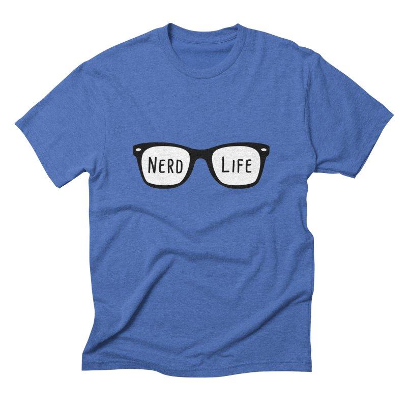 Nerd Life 4Ever Men's Triblend T-shirt by little g dehttps://www.threadless.com/profile/arti
