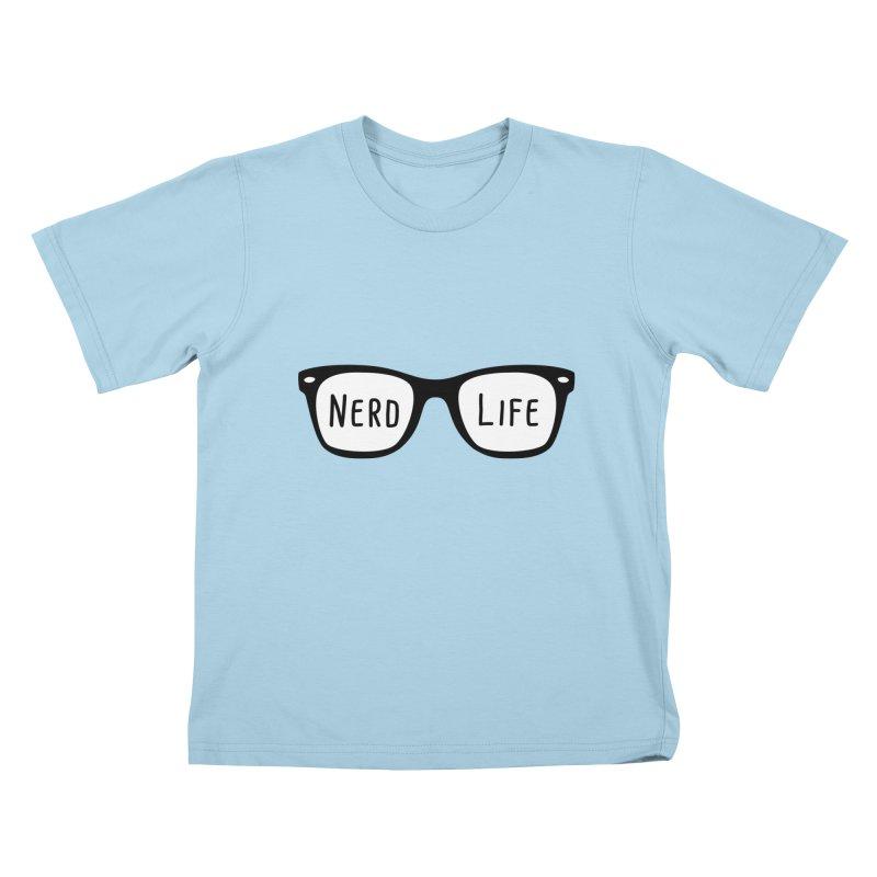Nerd Life 4Ever Kids T-shirt by little g dehttps://www.threadless.com/profile/arti