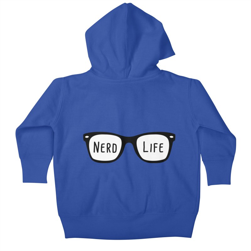 Nerd Life 4Ever Kids Baby Zip-Up Hoody by little g dehttps://www.threadless.com/profile/arti