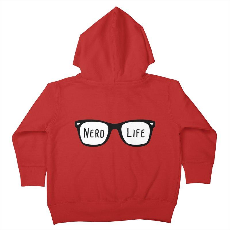 Nerd Life 4Ever Kids Toddler Zip-Up Hoody by little g dehttps://www.threadless.com/profile/arti