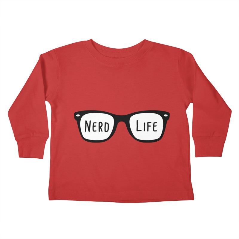 Nerd Life 4Ever Kids Toddler Longsleeve T-Shirt by little g dehttps://www.threadless.com/profile/arti