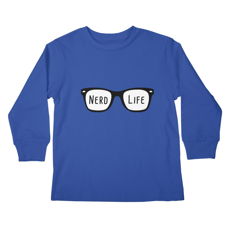 Nerd Life 4Ever Kids Longsleeve T-Shirt by little g dehttps://www.threadless.com/profile/arti