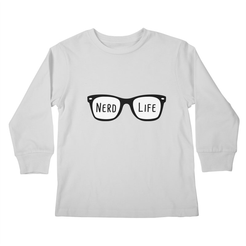 Nerd Life 4Ever Kids Longsleeve T-Shirt by little g dehttps://www.threadless.com/profile/arti