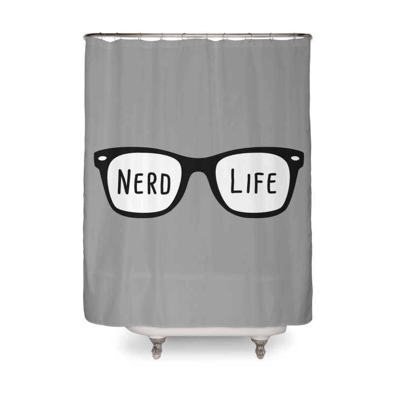 Nerd Life 4Ever Home Shower Curtain by little g dehttps://www.threadless.com/profile/arti