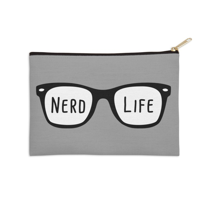 Nerd Life 4Ever Accessories Zip Pouch by little g dehttps://www.threadless.com/profile/arti