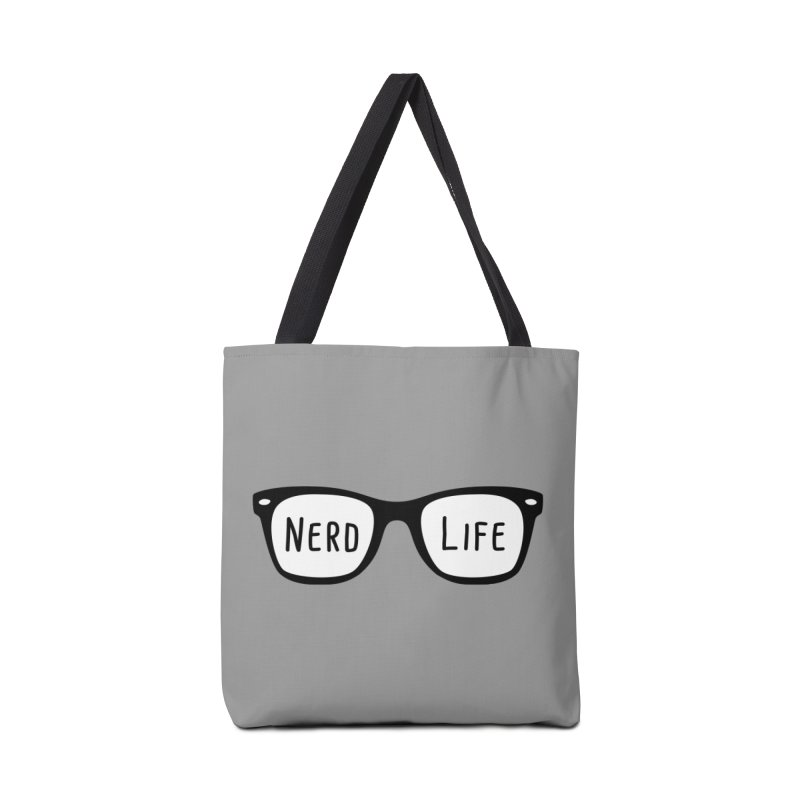 Nerd Life 4Ever Accessories Bag by little g dehttps://www.threadless.com/profile/arti