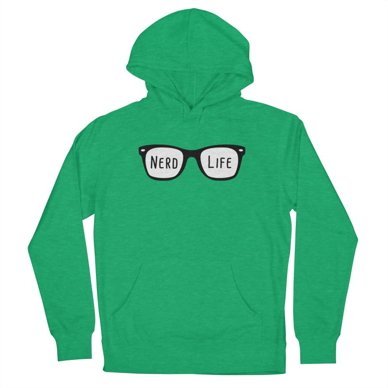 Nerd Life 4Ever Women's Pullover Hoody by little g dehttps://www.threadless.com/profile/arti