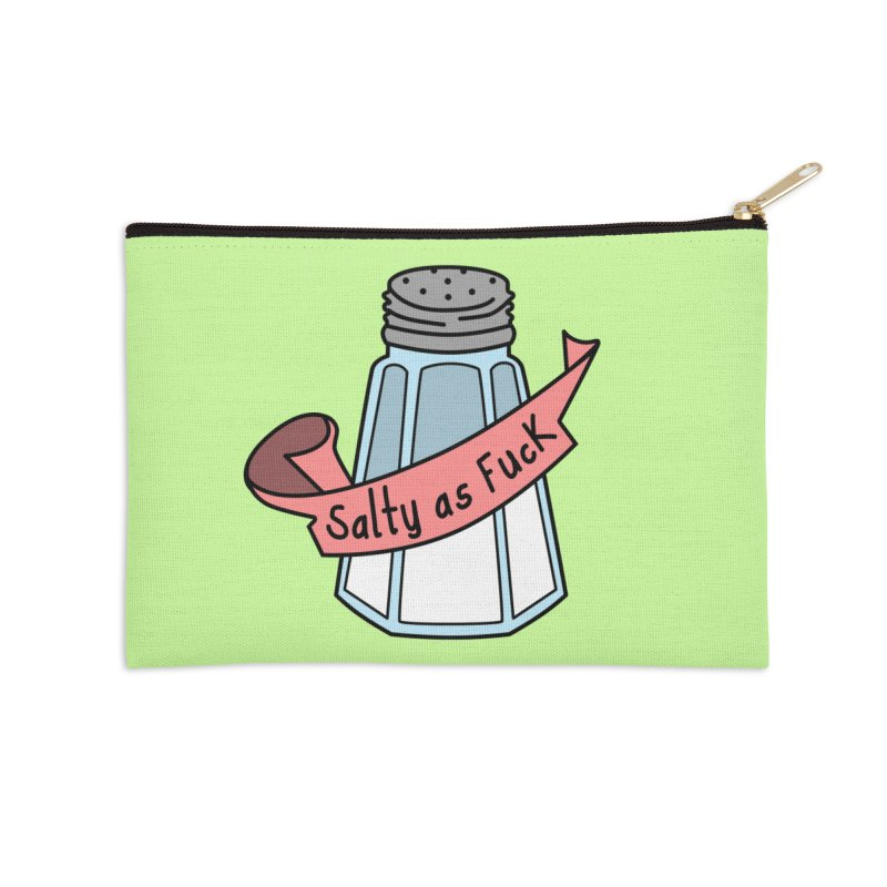 Salty as Fuck Accessories Zip Pouch by little g dehttps://www.threadless.com/profile/arti