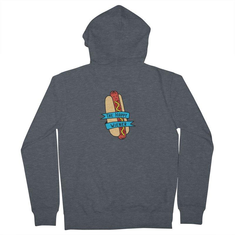 The Happy Wiener Women's Zip-Up Hoody by little g dehttps://www.threadless.com/profile/arti