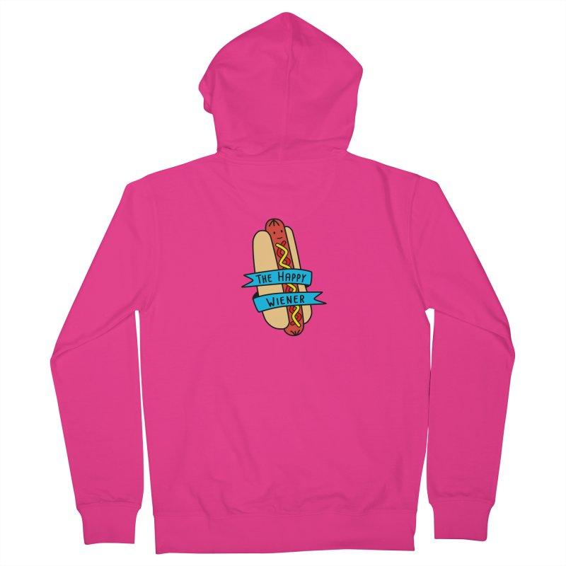 The Happy Wiener Men's Zip-Up Hoody by little g dehttps://www.threadless.com/profile/arti