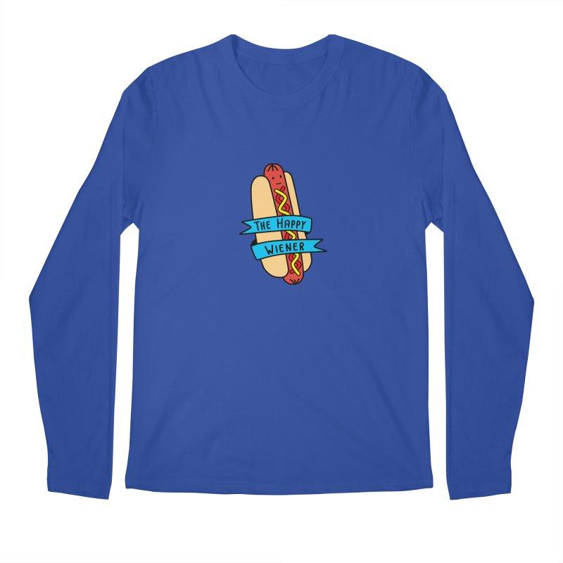 The Happy Wiener Men's Longsleeve T-Shirt by little g dehttps://www.threadless.com/profile/arti