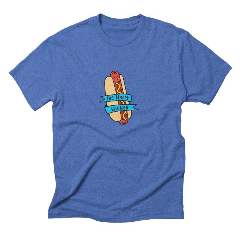 The Happy Wiener Men's Triblend T-Shirt by little g dehttps://www.threadless.com/profile/arti