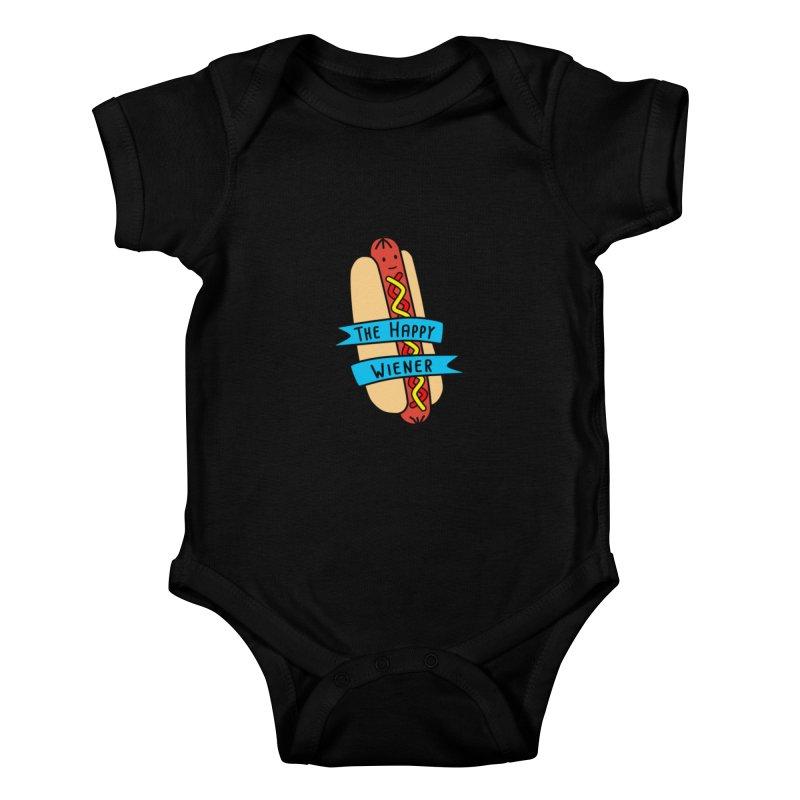 The Happy Wiener Kids Baby Bodysuit by little g dehttps://www.threadless.com/profile/arti