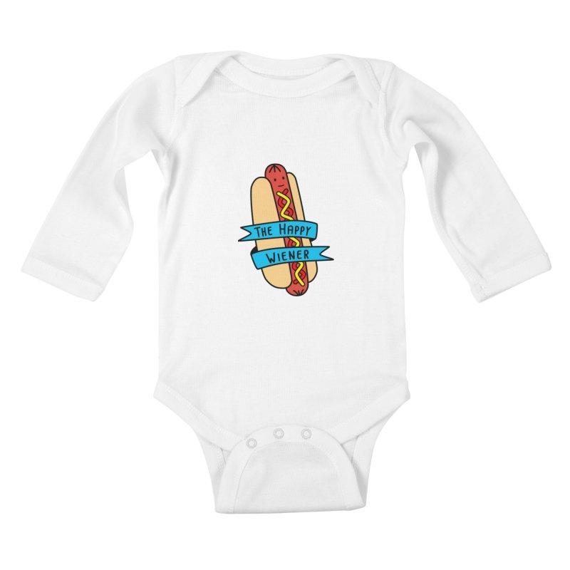 The Happy Wiener Kids Baby Longsleeve Bodysuit by little g dehttps://www.threadless.com/profile/arti