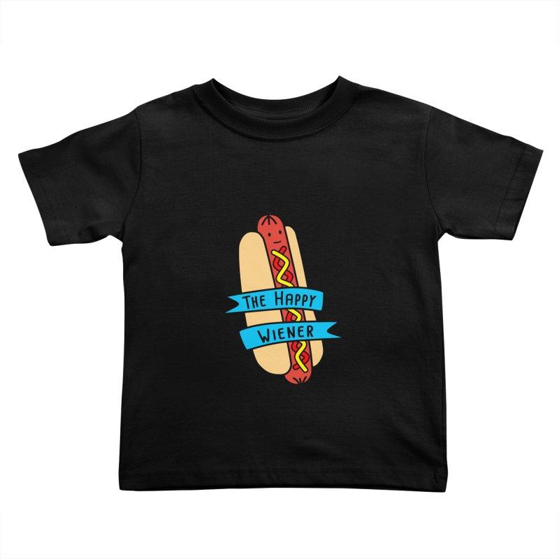 The Happy Wiener Kids Toddler T-Shirt by little g dehttps://www.threadless.com/profile/arti