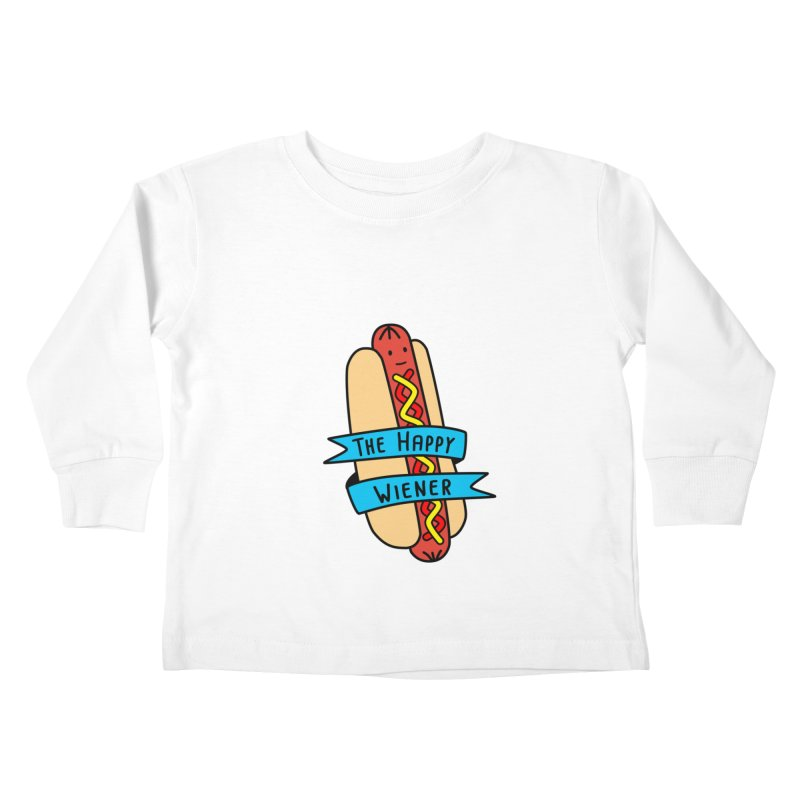 The Happy Wiener Kids Toddler Longsleeve T-Shirt by little g dehttps://www.threadless.com/profile/arti