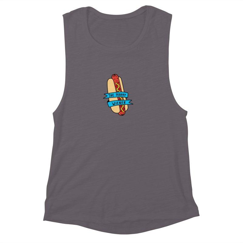 The Happy Wiener Women's Muscle Tank by little g dehttps://www.threadless.com/profile/arti