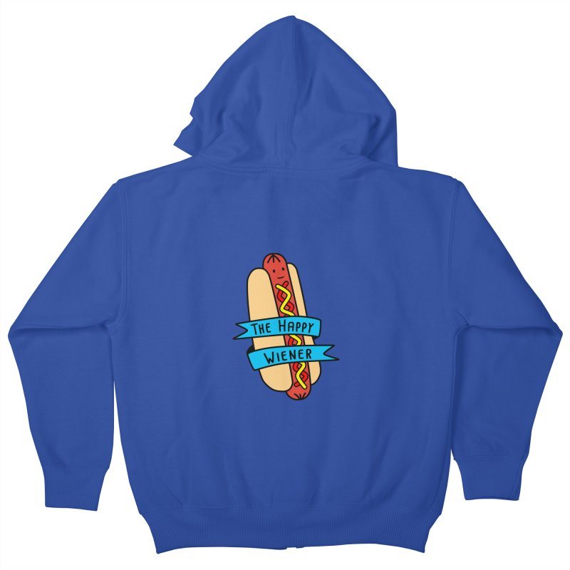 The Happy Wiener Kids Zip-Up Hoody by little g dehttps://www.threadless.com/profile/arti