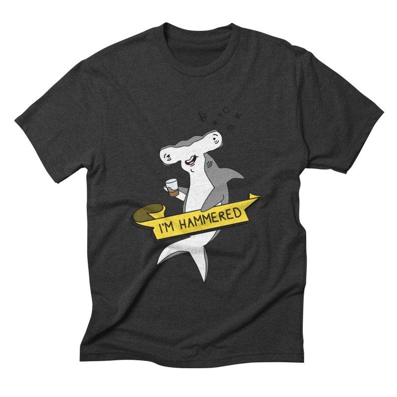 Hammered Men's Triblend T-shirt by little g dehttps://www.threadless.com/profile/arti