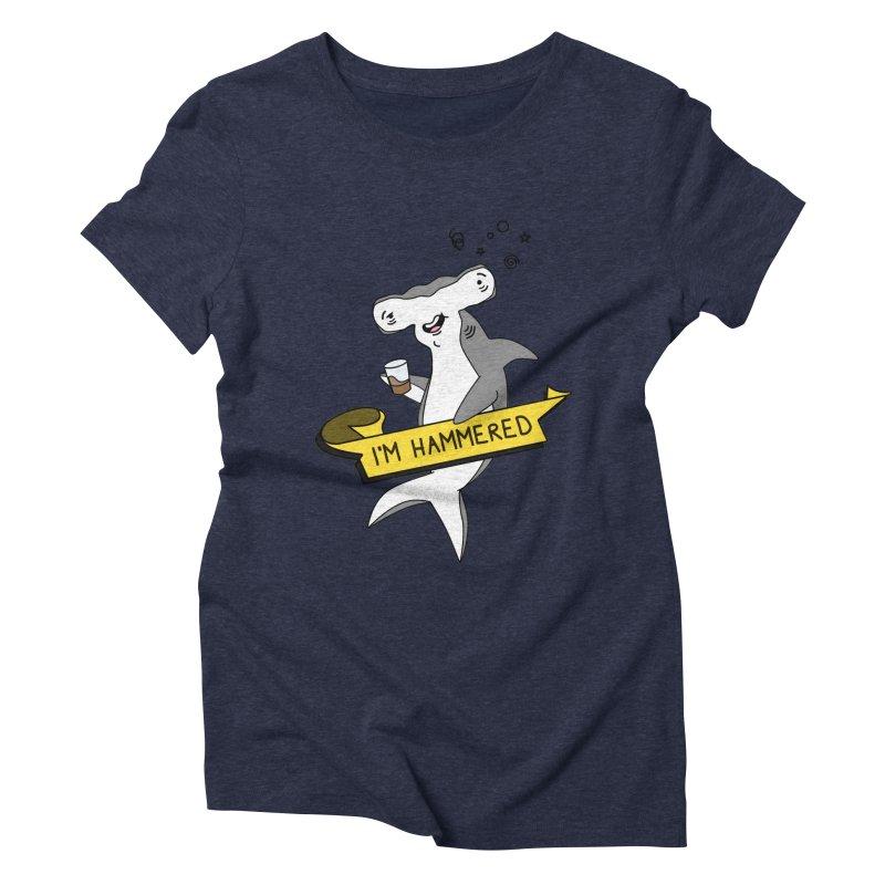 Hammered Women's Triblend T-Shirt by little g dehttps://www.threadless.com/profile/arti