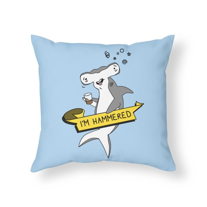 Hammered Home Throw Pillow by little g dehttps://www.threadless.com/profile/arti