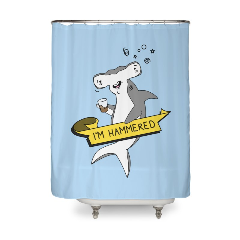 Hammered Home Shower Curtain by little g dehttps://www.threadless.com/profile/arti
