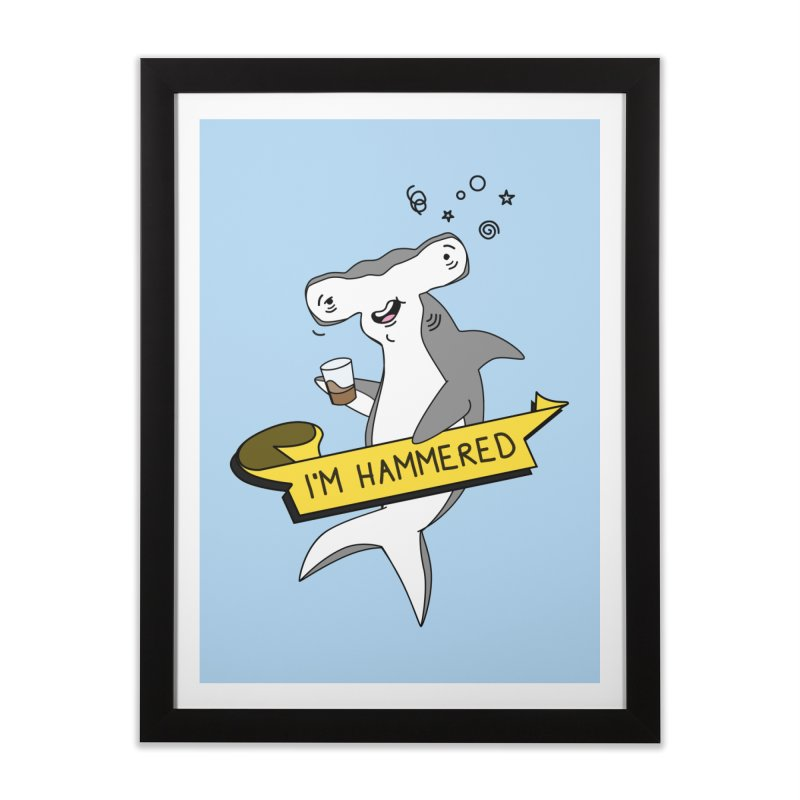 Hammered Home Framed Fine Art Print by little g dehttps://www.threadless.com/profile/arti