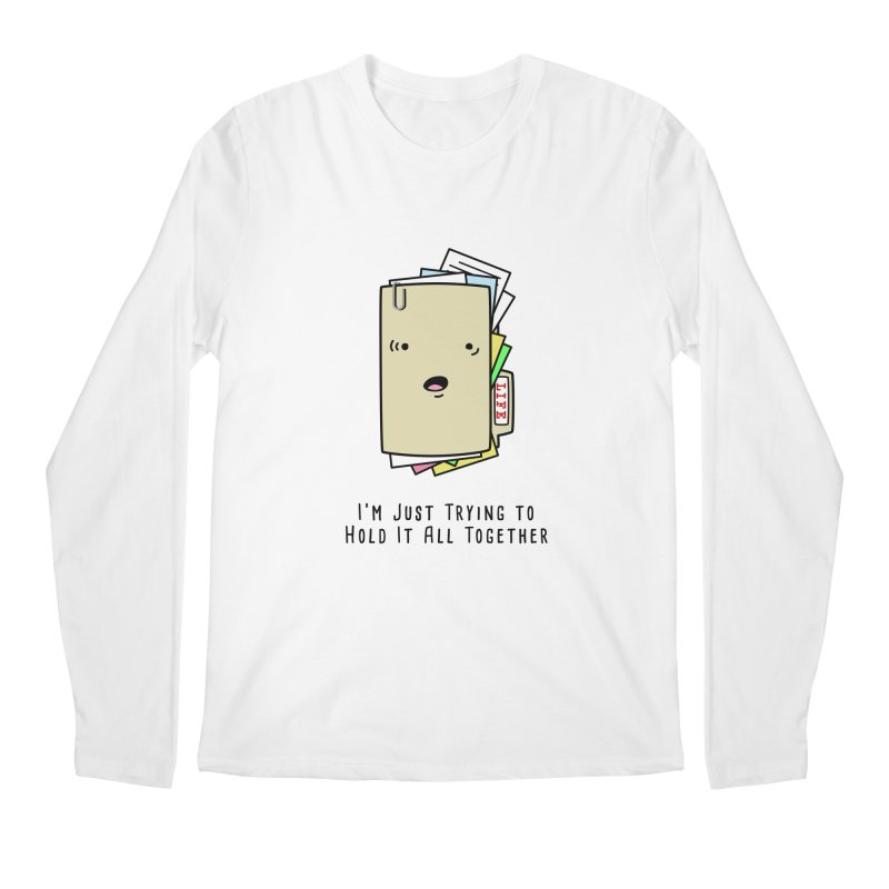 Keep It Together Men's Longsleeve T-Shirt by little g dehttps://www.threadless.com/profile/arti
