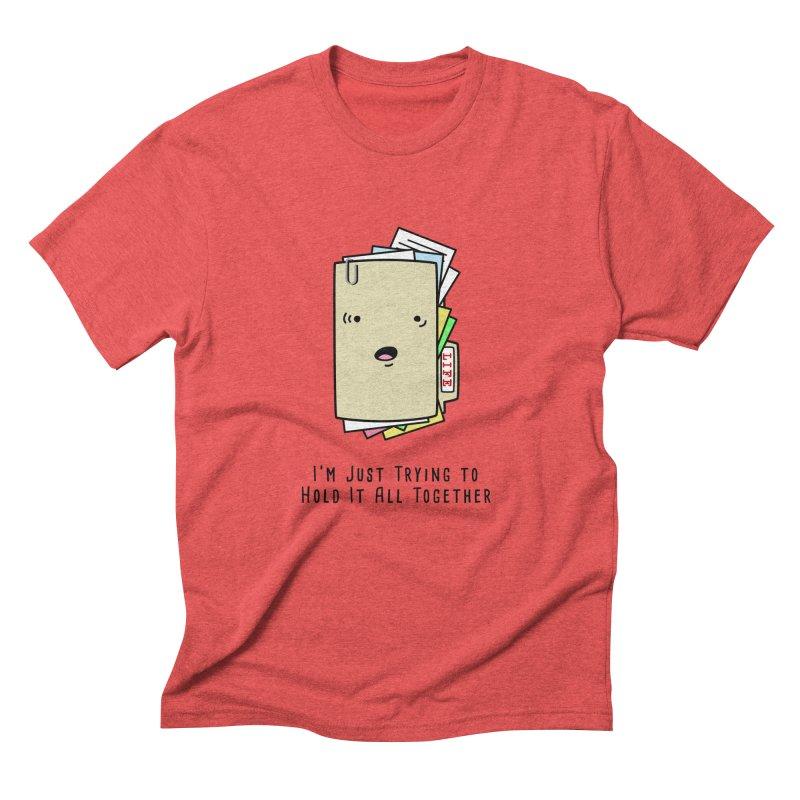 Keep It Together Men's Triblend T-shirt by little g dehttps://www.threadless.com/profile/arti