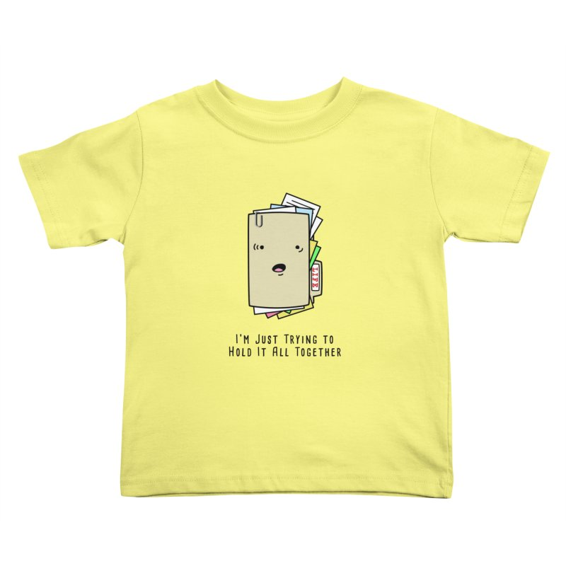Keep It Together Kids Toddler T-Shirt by little g dehttps://www.threadless.com/profile/arti
