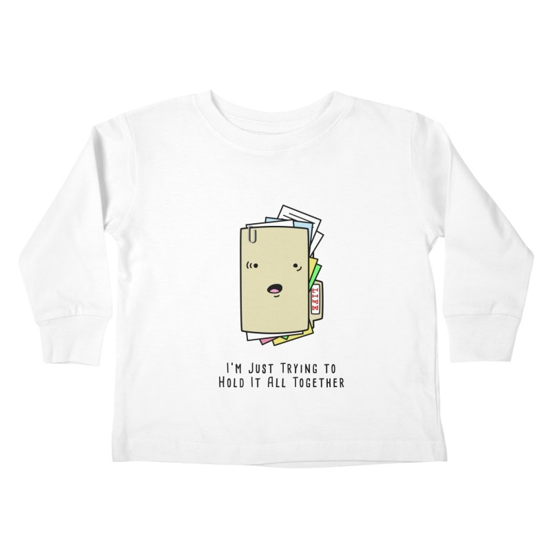 Keep It Together Kids Toddler Longsleeve T-Shirt by little g dehttps://www.threadless.com/profile/arti