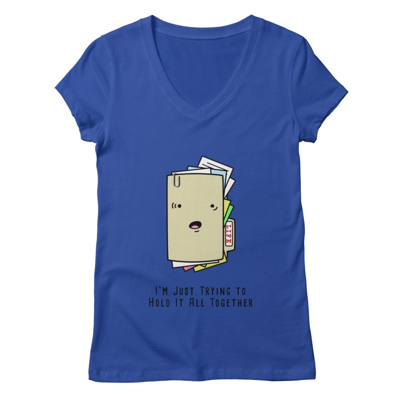 Keep It Together Women's V-Neck by little g dehttps://www.threadless.com/profile/arti