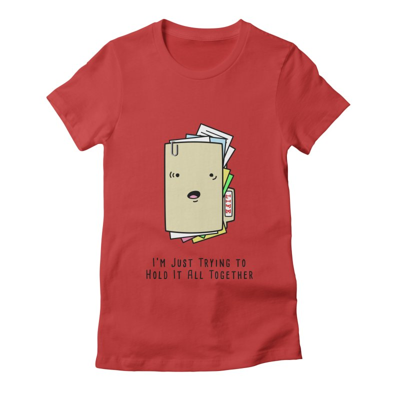 Keep It Together Women's Fitted T-Shirt by little g dehttps://www.threadless.com/profile/arti