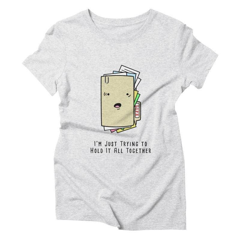 Keep It Together Women's Triblend T-Shirt by little g dehttps://www.threadless.com/profile/arti