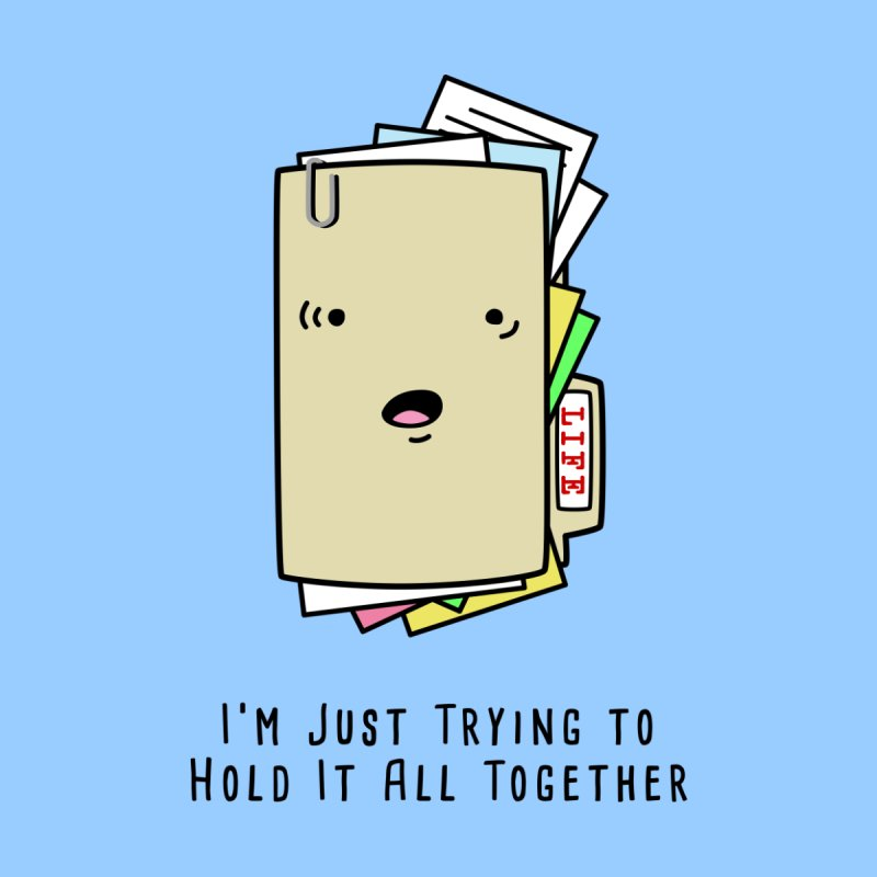 Keep It Together Home Stretched Canvas by little g dehttps://www.threadless.com/profile/arti