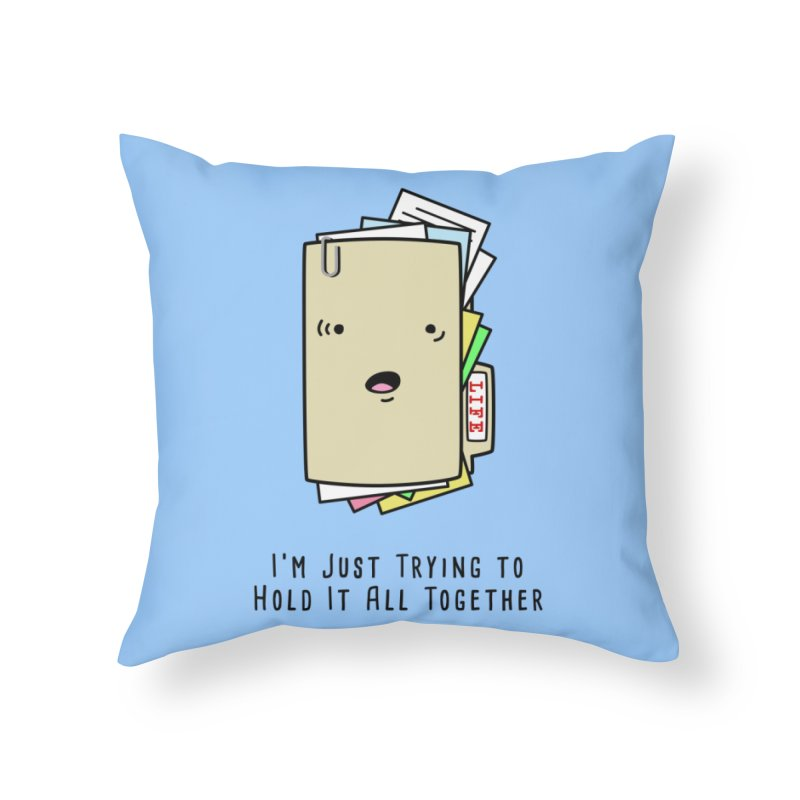 Keep It Together Home Throw Pillow by little g dehttps://www.threadless.com/profile/arti