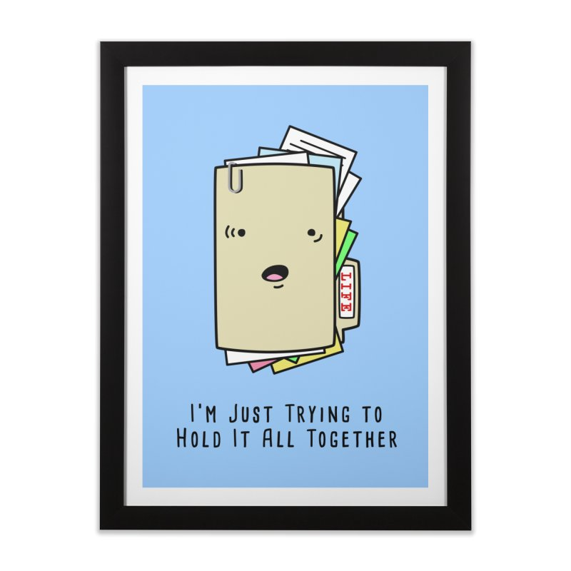 Keep It Together Home Framed Fine Art Print by little g dehttps://www.threadless.com/profile/arti