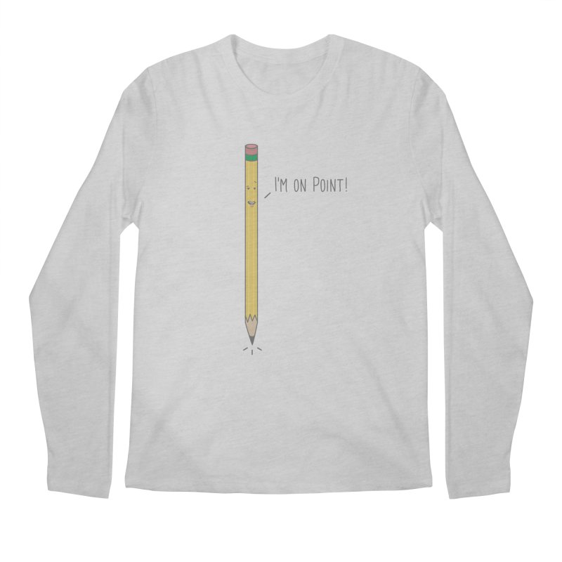 On Point Men's Longsleeve T-Shirt by little g dehttps://www.threadless.com/profile/arti