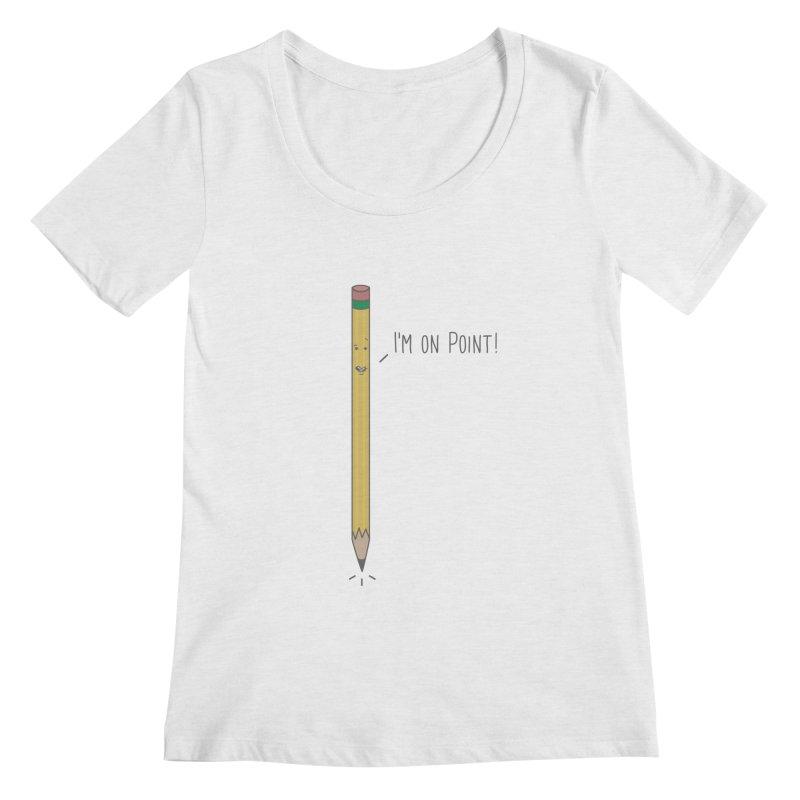 On Point Women's Scoopneck by little g dehttps://www.threadless.com/profile/arti