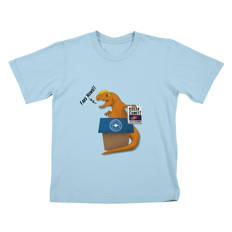 Trump-Rex Kids T-shirt by little g dehttps://www.threadless.com/profile/arti
