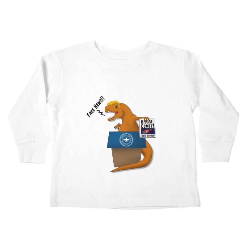 Trump-Rex Kids Toddler Longsleeve T-Shirt by little g dehttps://www.threadless.com/profile/arti